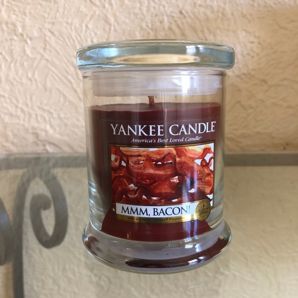 Yankee Candle Bacon Rare 8oz Jar Retired